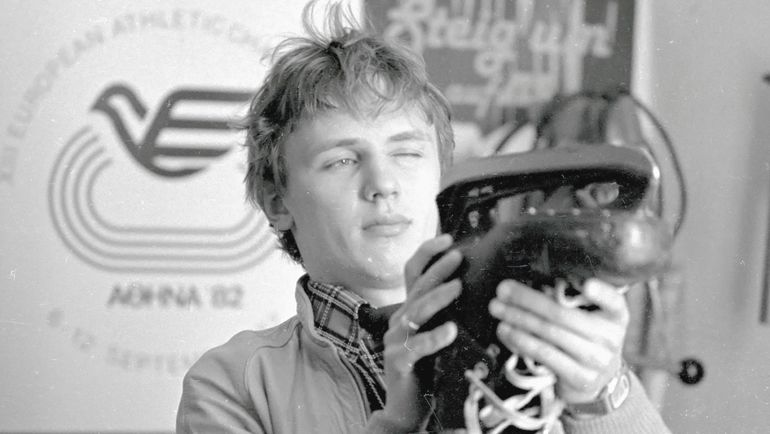 1982 год. Игорь ЛАРИОНОВ. Фото Федор АЛЕКСЕЕВ