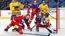 Воскресенье. Баффало. Россия - Швеция - 3:4 Б. Уступив шведам, россияне попали в плей-офф на хозяина турнира.