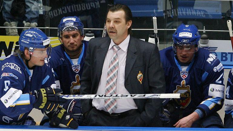Сезон-2008/09. Олег ЗНАРОК в ХК МВД. Фото Алексей ИВАНОВ