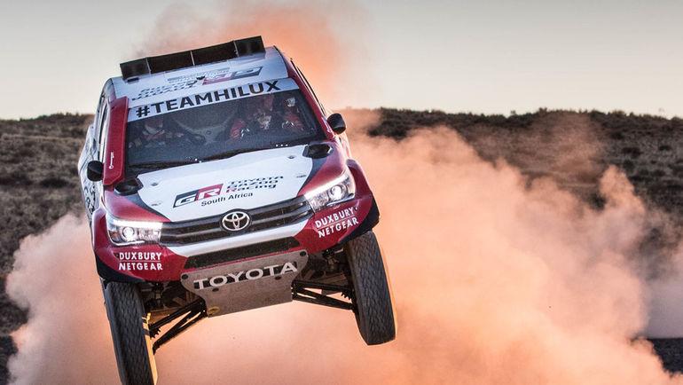 Toyota Hilux (Toyota Gazoo Racing).