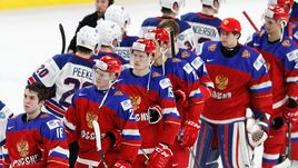 Вторник. Баффало. США - Россия - 4:2. Реакция игроков молодежной сборной России на поражение.