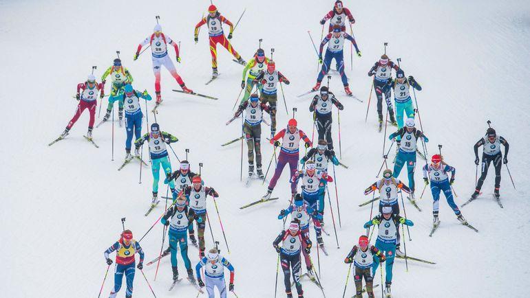 Прибавят ли российские биатлонисты в лесах Тюрингии? Фото AFP