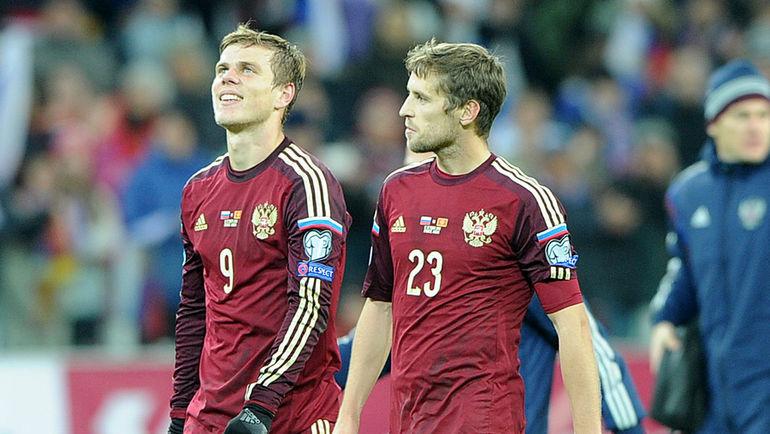 "Александр КОКОРИН (слева) и Дмитрий КОМБАРОВ. Фото Федор УСПЕНСКИЙ, ""СЭ"""