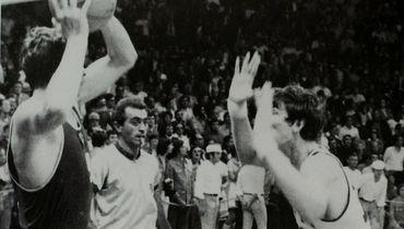 9сентября 1972 года. Мюнхен. СССР— США— 51:50. Иван ЕДЕШКО (слева).