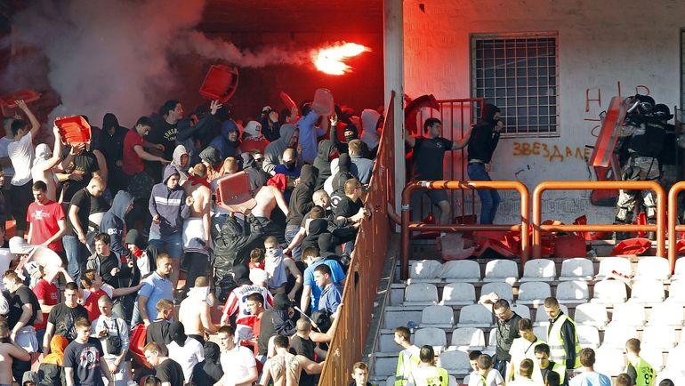 Матч «Црвена Звезда»— ЦСКА пройдет при пустых трибунах