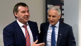 Олег ЗНАРОК (слева) и Зинэтула БИЛЯЛЕТДИНОВ отказались от участия в Матче звезд в этом сезоне.