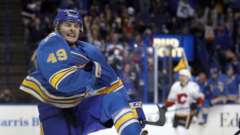 Иван БАРБАШЕВ забросил первую шайбу в НХЛ.