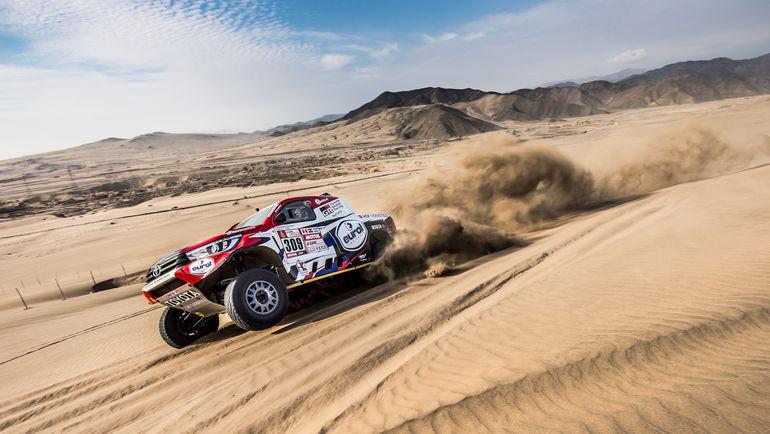 Toyota Gazoo Racing Бернарда тен Бринке.