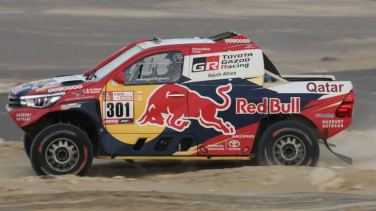 Toyota Hilux Нассера Аль-Аттия.