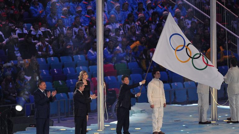 """В Пхенчхане россияне будут выступать под олимпийским флагом. Фото Федор УСПЕНСКИЙ, """"СЭ"""""""