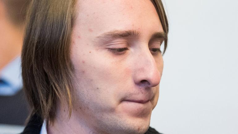 Сегодня. Дортмунд. Сергей В. на заседании суда. Фото AFP