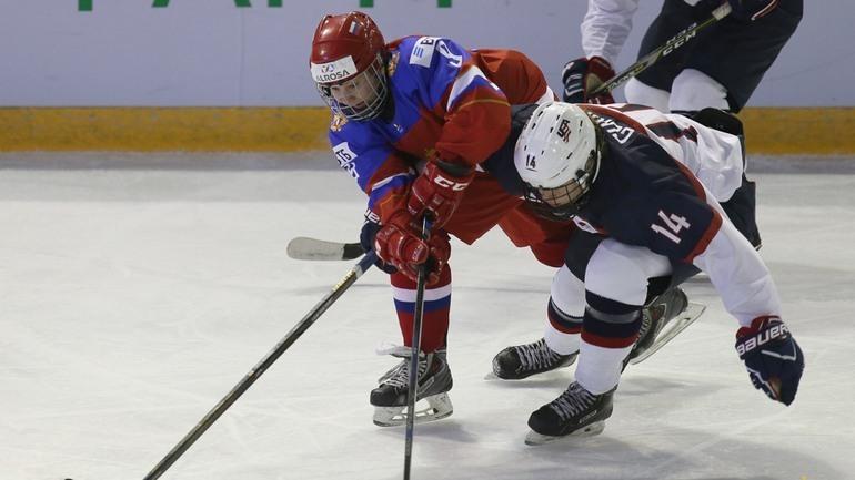 Шанс, что сборная России одолеет США в плей-офф, невелик. Фото ФХР/fhr.ru