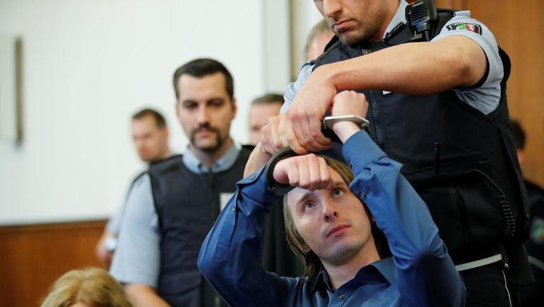 21 декабря 2017 года. Дортмунд. Начало судебного заседания по делу Сергея В. Фото AFP