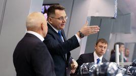 """Главный тренер """"Нефтехимика"""" Андрей НАЗАРОВ."""