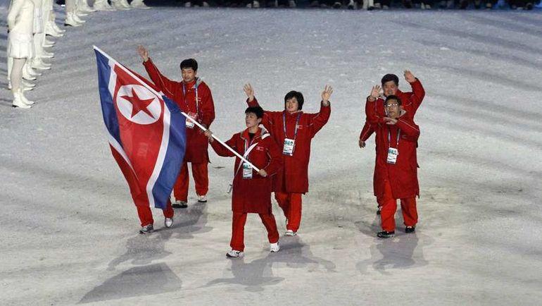 Спортсмены из КНДР. Фото REUTERS