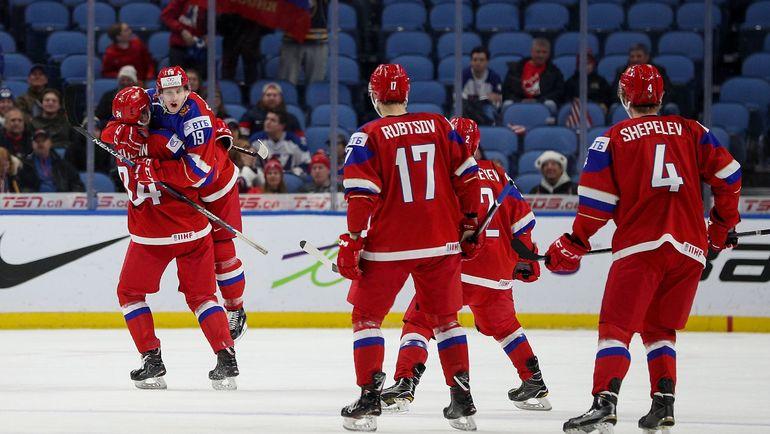 Сборная России на молодежном чемпионате мира-2018. Фото AFP