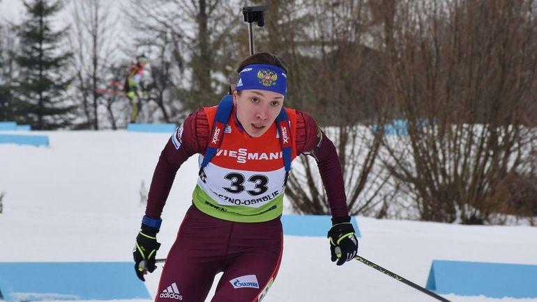 Ульяна КАЙШЕВА. Фото twitter.com/IBU_CUP