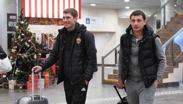 ЦСКА отправился на тренировочный сбор в Испанию