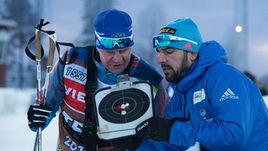 Тренеры мужской сборной России Рикко ГРОСС (справа) и Андрей ПАДИН.