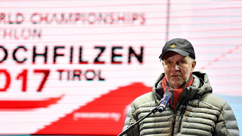 Президент IBU Андреас БЕССЕБЕРГ. Фото AFP