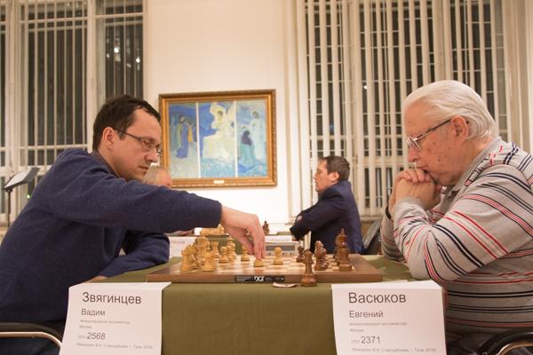 Вадим ЗВЯГИНЦЕВ (слева) и Евгений ВАСЮКОВ.