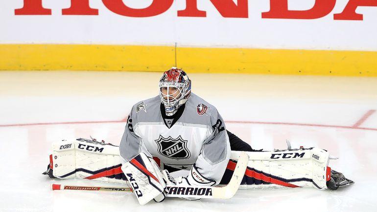 2017 год. Сергей БОБРОВСКИЙ на Матче всех звезд НХЛ. Фото AFP