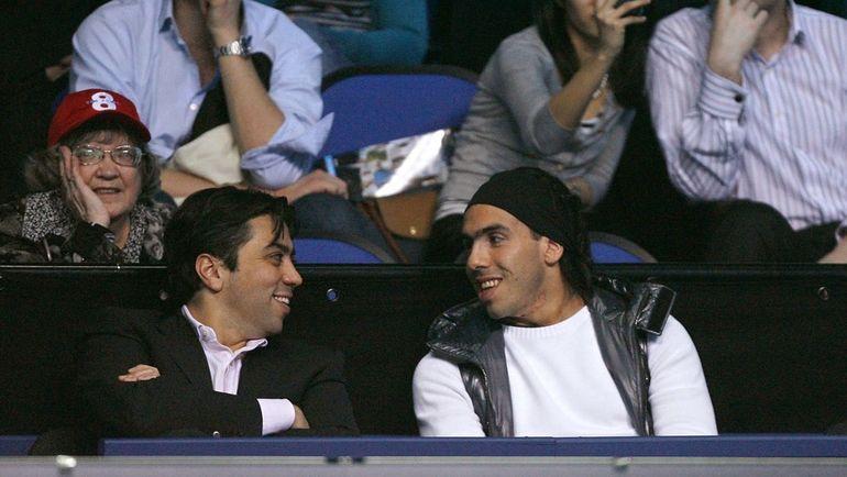 Киаваш ДЖУРАБЧАН (слева) и Карлос ТЕВЕС. Фото AFP