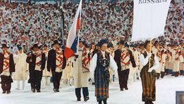 Сергей ЧЕПИКОВ был знаменосцем сборной России на зимних Играх-1994 в Лиллехаммере.