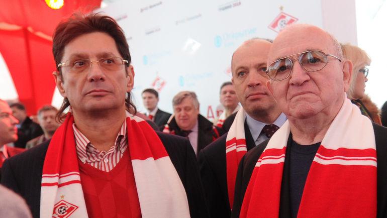 Леонид ФЕДУН, Сергей ПРЯДКИН и Никита СИМОНЯН. Фото Татьяна ДОРОГУТИНА