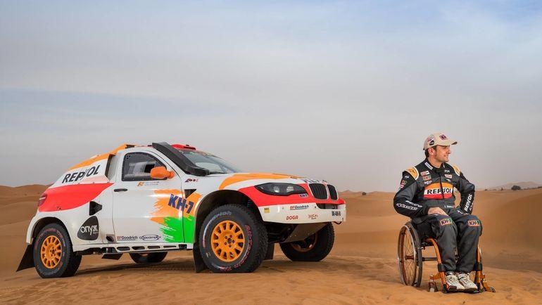 Эстеве Исидре и его BMW.