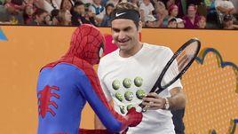 Роджер Федерер научил Человека-паука играть в теннис