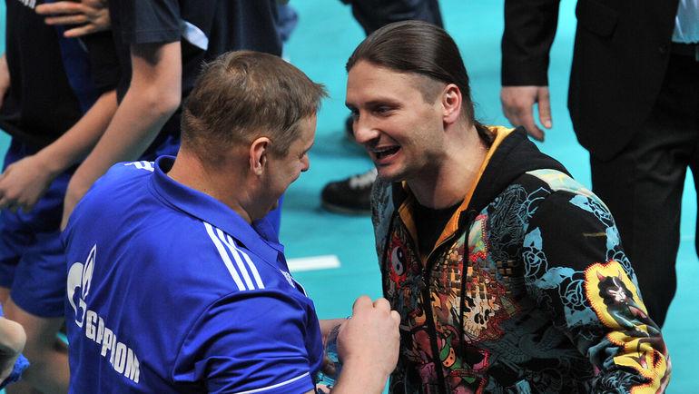 Эдгард ЗАПАШНЫЙ (справа). Фото Алексей ИВАНОВ