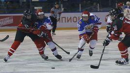 Без медалей. Российские хоккеистки проиграли Канаде