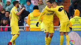 """Сегодня. Мадрид. """"Реал"""" - """"Вильярреал"""" - 0:1. Денис ЧЕРЫШЕВ (№7) помог гостям обыграть свою родную команду."""