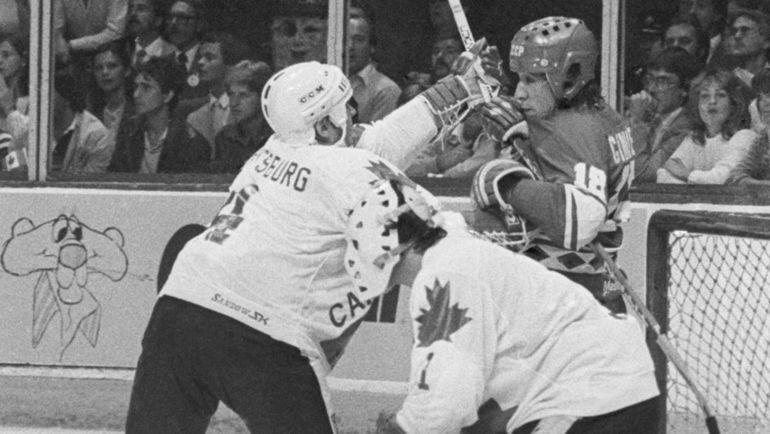1981 год. Монреаль. СССР-Канада - 8:1. Фото Валерий ЗУФАРОВ, ТАСС