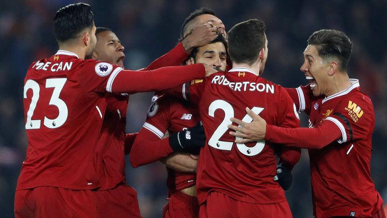 """Сегодня. Ливерпуль. """"Ливерпуль"""" - """"Манчестер Сити"""" - 4:3. """"Красные"""" нанесли """"горожанам"""" первое поражение в сезоне. Фото REUTERS"""