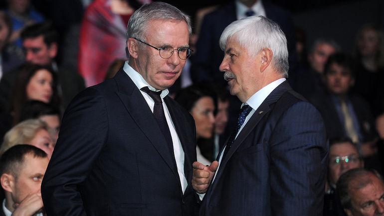 Вячеслав ФЕТИСОВ (слева). Фото Алексей ИВАНОВ, «СЭ»