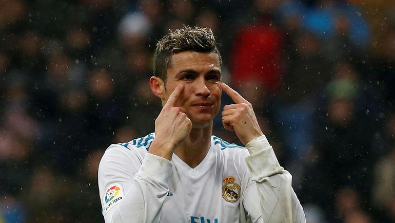 "Нападающий ""Реала"" Криштиану РОНАЛДУ. Фото REUTERS"
