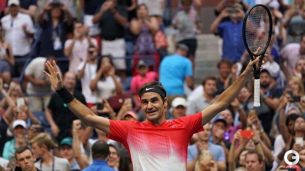 Роджер ФЕДЕРЕР (теннис). Фото AFP