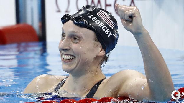 Кэти ЛЕДЕКИ (плавание). Фото AFP