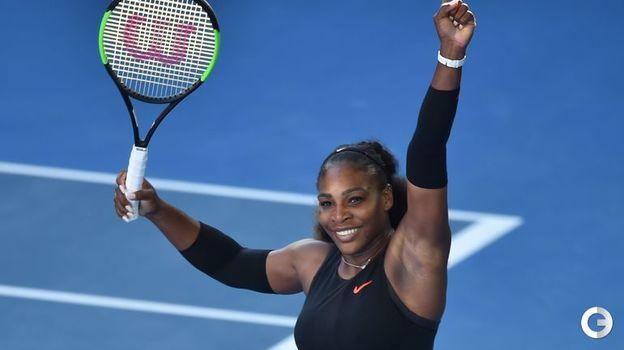Серена УИЛЬЯМС (теннис). Фото AFP