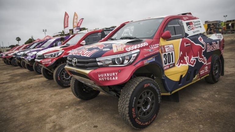 Экипаж #301 Нассер Аль-Аттия и Мэттью Бомель (Toyota Gazoo Racing).