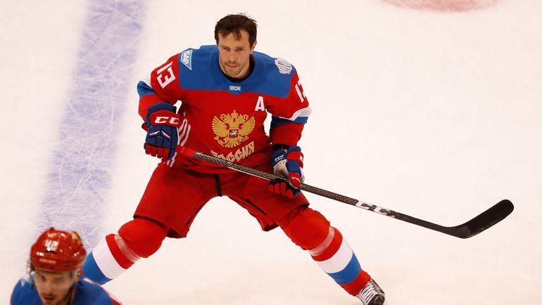 Нападающий СКА и сборной России Павел ДАЦЮК. Фото AFP