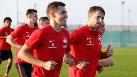 Роман ЗОБНИН (слева) и Дмитрий КОМБАРОВ.