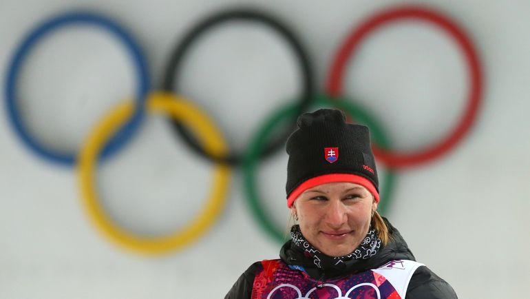 Анастасия КУЗЬМИНА - олимпийская чемпионка Сочи. Фото ТАСС