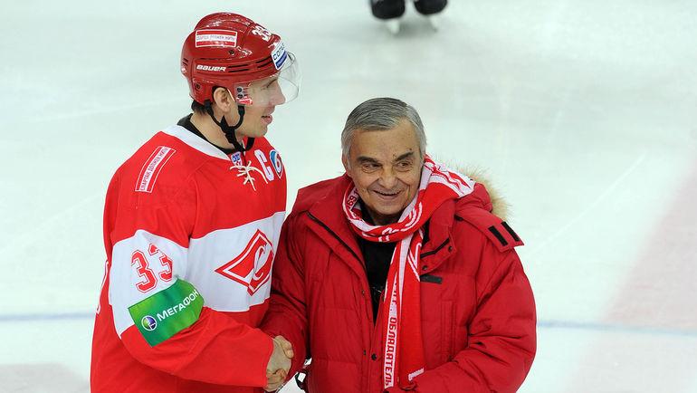 Денис БОБРОВ и Евгений ЗИМИН. Фото Алексей ИВАНОВ
