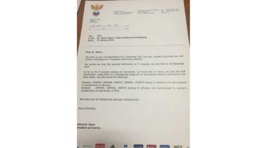 РФС проинформировал ФИФА по поводу допинг-протоколов, не обнаруженных в РУСАДА