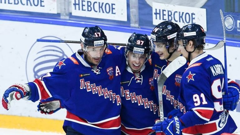 СКА - обладатель Кубка Континента. Фото ХК СКА/ska.ru