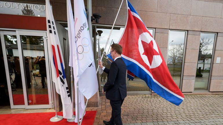 На церемонии открытия Олимпийских игр-2018 в Пхенчхане спортсмены из Кореи и КНДР пройдут единой делегацией. Фото AFP