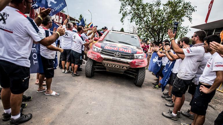Экипаж #301 Нассер Аль-Аттия и Мэттью Бомеля (Toyota Gazoo Racing).